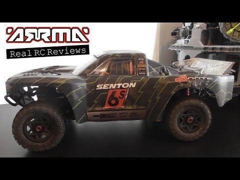 ARRMA 1/10 Senton 6S BLX SCT Review | Real RC Reviews