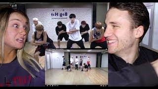 BTS 방탄소년단 'Danger' Dance Practice Reaction