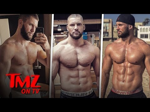 [TMZ] 'Creed 2' Star Shows Off 8 Pack Abs