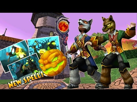 2 PERM MOUNTS IN 1 PACK??? Wizard101 Halloween pack opening