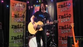 Never Tear Us Apart - INXS - Performed by Anthony Renzulli (Live on Radio 104.5FM Philadelphia)