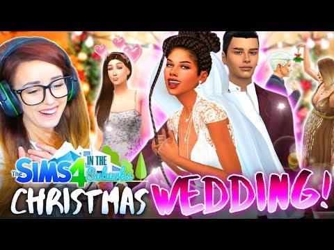 CHRISTMAS DAY WEDDING!