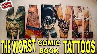 The Worst Comic Book Tattoos