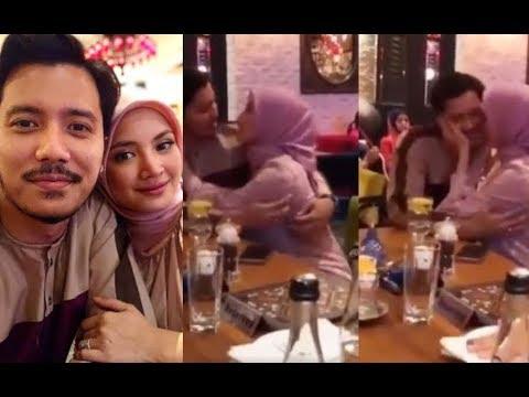 Tak sedar aksi romantis bersama Fazura dirakam, Fattah Amin mohon maaf