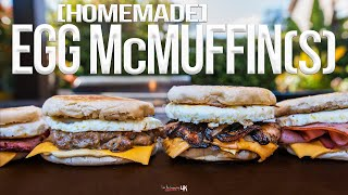 The Best Homemade Egg McMuffin | SAM THE COOKING GUY 4K