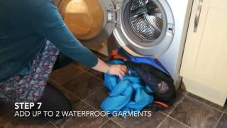 Cleaning and reproofing waterproof clothing - 4K