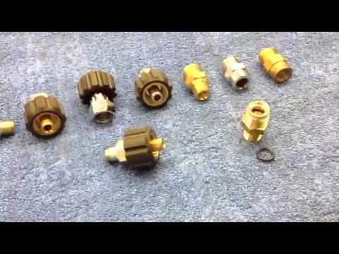 High Pressure Washer Jetwash Screw Fitting Coupling 1 2