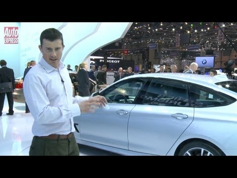 BMW 3 Series GT at the 2013 Geneva Motor Show - Auto Express