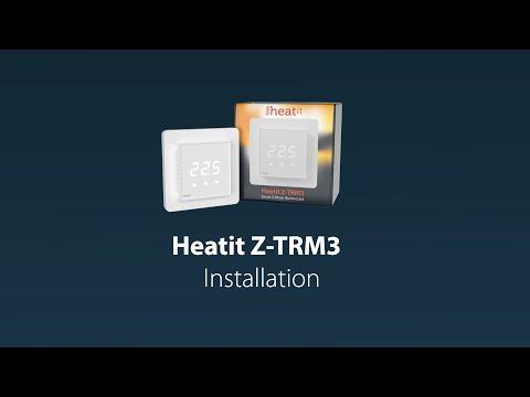 Heatit Z-TRM3 Installation