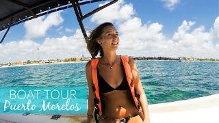 Snorkelling Boat Tour in Puerto Morelos