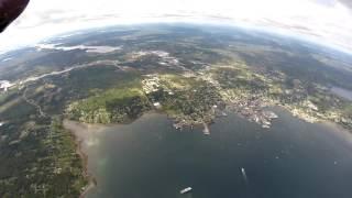 Flying Acadia National Park