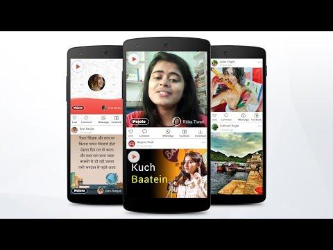 Nojoto: Write Quotes, Record Poems, Shayari Videos Android - Free