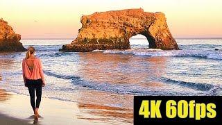 EXPLORING CALIFORNIA BY DRONE | CLIFFS OF SANTA CRUZ IN 4K60