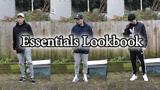 Essentials Lookbook | Mens Fashion Ft. Adidas, Air Jordan, Champion & More