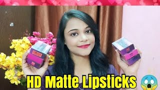 Ultra HD Matte Lipstick | Affordable Matte Lipsticks | Drinking Partner,Dance Partner,Office Partner