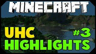 Minecraft: UHC HIGHLIGHTS #3 [DRAGON RUSH FUNNY FAIL!] w/AciDic BliTzz
