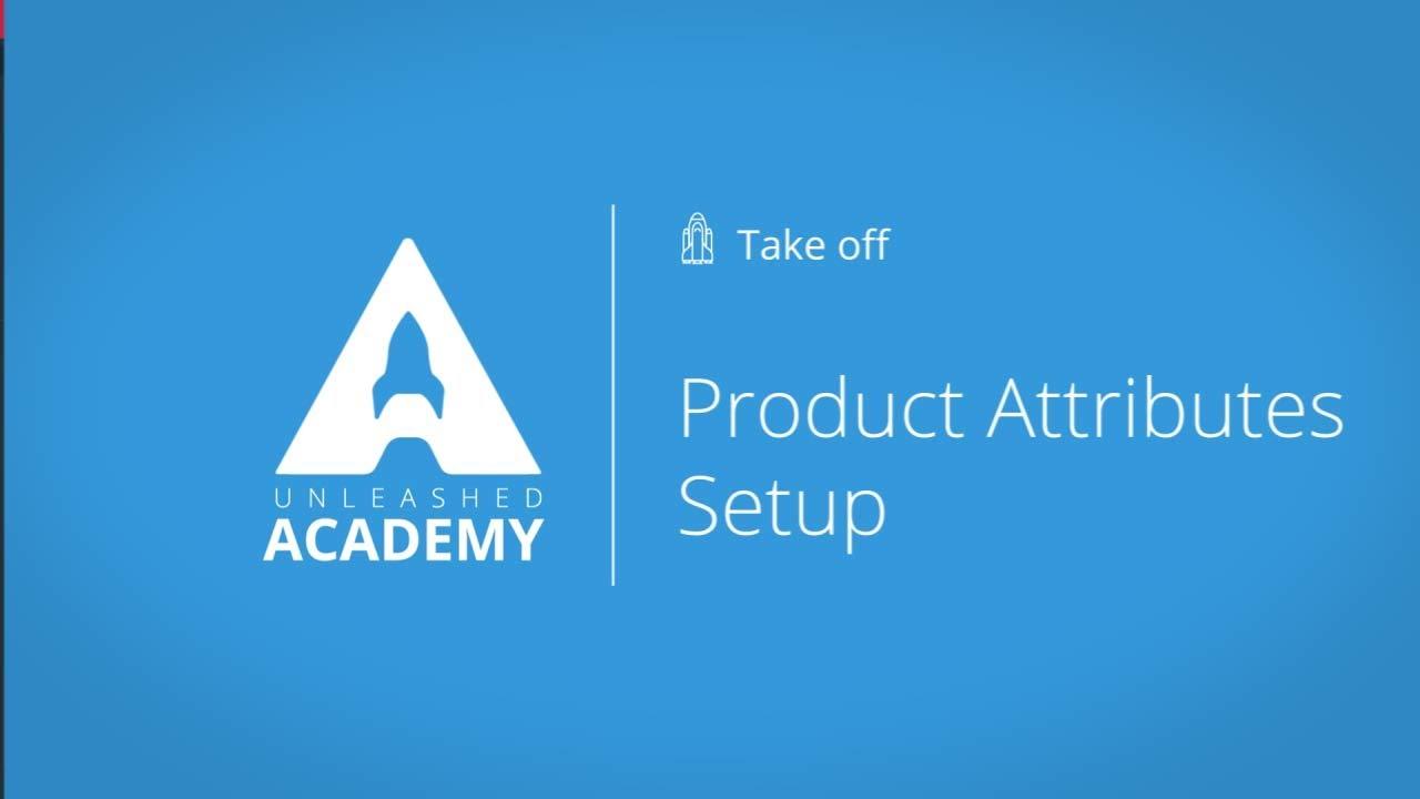 Product Attributes Setup YouTube thumbnail image