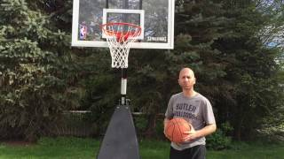 Spalding Hybrid Portable Basketball Hoop