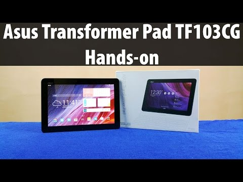 Asus Transformer Pad TF103CG Unboxing & Full Review