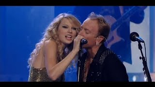 Def Leppard ft Taylor Swift Hysteria Live