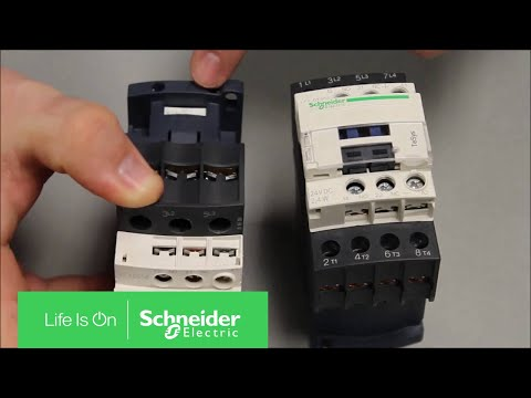 Video: Locating TeSys D Line IEC Contactor/Overload Date Codes & Model Number