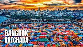 Bangkok Ratchada Night Market Shopping Tour (2020)