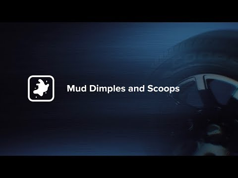 Mud Scoops And Mud Release Dimples
