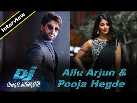 Allu Arjun and Pooja Hegde Exclusive Interview