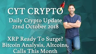 🔥XRP Ready To Surge? 🔥 Bitcoin Analysis 🔥Altcoin 🔥 Calls This Month🔥