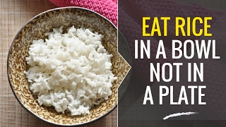 A Sure Way to Reduce Your Rice Consumption