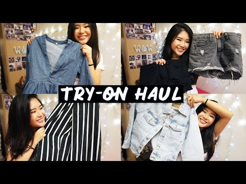 Try-On Online Clothing Haul | Romwe, SheIn
