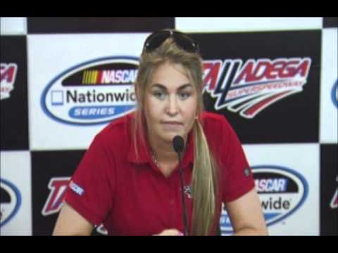 Johanna Long NASCAR Talladega