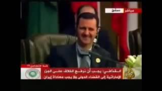 Сирия  Башар Асад досмеялся над Каддафи