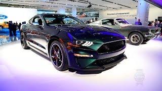 2019 Ford Mustang Bullitt - 2018 Detroit Auto Show