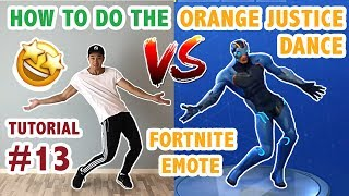 How To Do Fortnite Orange Justice Tutorial 免费在线视频最佳电影