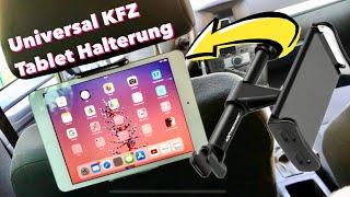 iPad/Tablet Kopstützen Halterung für's Auto im Test Review Extremade