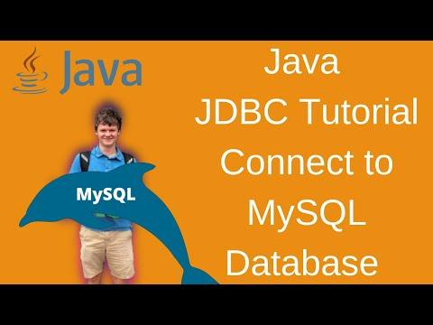 Java JDBC - Connect to MySQL Database in IntelliJ with Java