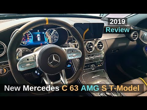 New Mercedes C 63 S AMG T Model Review 2019 Interior Exterior