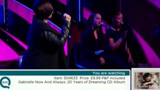 Gabrielle    Say Goodbye Live On QVC