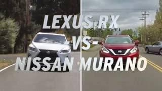Lexus RX vs Nissan Murano - AutoNation | Kholo.pk