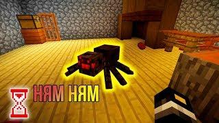 В доме бабки обитает настоящий паук | Minecraft Granny house