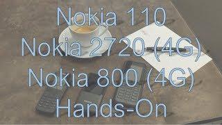 Nokia 110, 2720 und 800 Tough: Was können die neuen Feature-Phones?