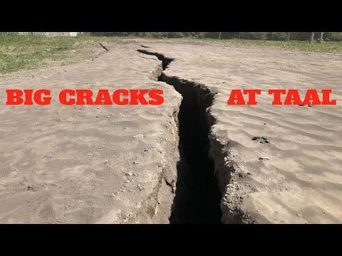 BIG Cracks Form Around Taal Volcano Philippines After Major Eruption