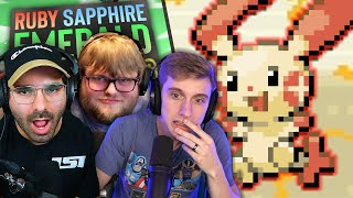 LAUGH WITHOUT SMILING | Pokemon Ruby & Sapphire #3WayVersus - EP05