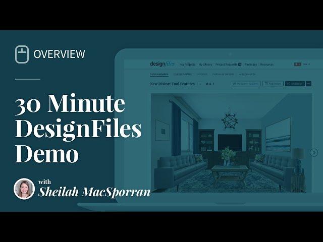 Full 30 Min. DesignFiles Demo