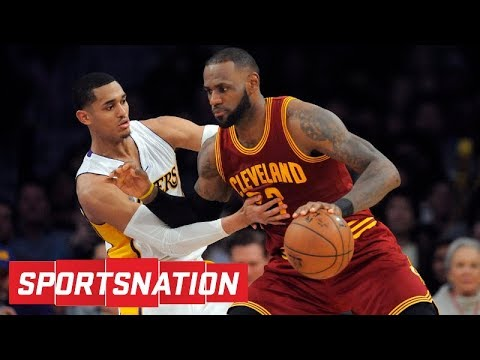 Are the Lakers auditioning to be LeBron James' next team?   SportsNation   ESPN