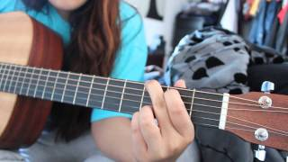 A Button On Your Blouse Guitar Tutorial (Including Riff) | Drowners