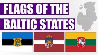 Fun With Flags - Baltic States (Estonia, Latvia & Lithuania)