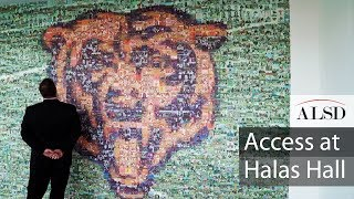 ALSD secure exclusive access at Chicago Bears' team HQ, Halas Hall