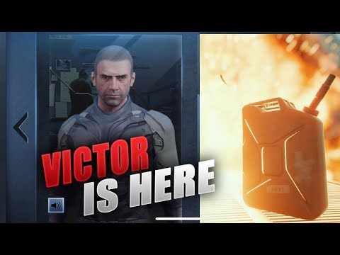 Pubg Mobile New Character 'Victor' is here with Skill, new Emote, voice chat, skin
